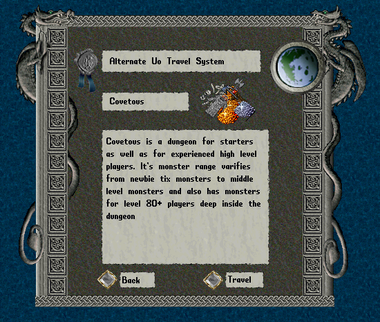 Ultima Online Travel System